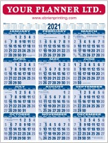 Wall Chart 2021