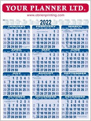 Wall Chart 2022