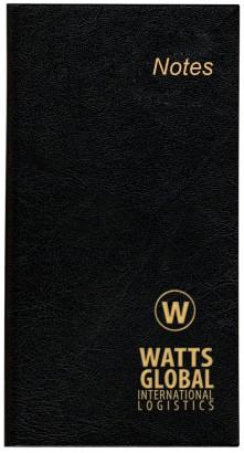 Slim Notebook Black