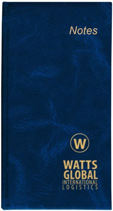 Slim Notebook Blue