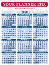 Wall Chart 2020
